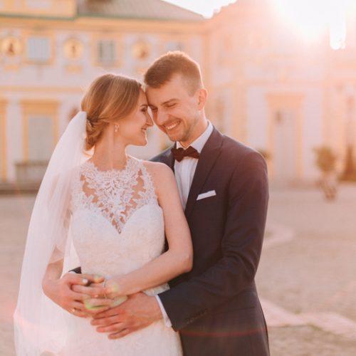Plener ślubny w wilanowie